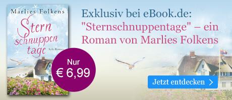Exklusiv bei eBook.de: Sternschnuppentage von Marlies Folkens