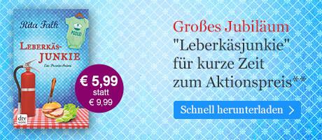 Rita Falk-Festspiele bei eBook.de: Leberkäsjunkie zum Aktionspreis
