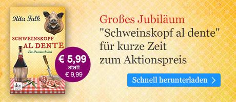 Rita Falk-Festspiele bei eBook.de: Schweinskopf al dente zum Aktionspreis
