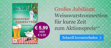 Rita Falk-Festspiele bei eBook.de: Weißwurstconnection zum Aktionspreis