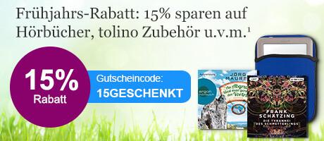 Ihr Gutschein 15GESCHENKT bei eBook.de - schnell einlösen