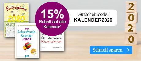 Sparen Sie 15% auf Kalender 2020 bei eBook.de