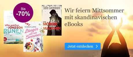 Wir feiern den Mittsommer bei eBook.de mit skandinavischen eBooks