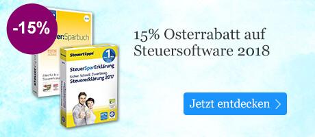 15% auf Steuersoftware bei eBook.de