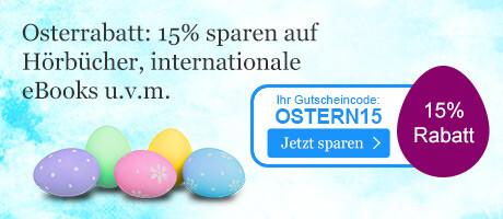 Sparen Sie 15% auf viele Sortimente bei eBook.de