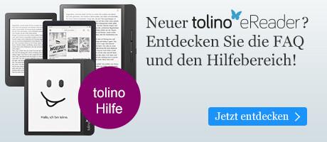 Hilfe für die Nutzung Ihres tolino eReaders bei eBook.de