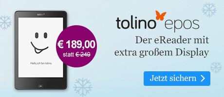 Der tolino epos für € 189 bei eBook.de