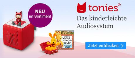 tonies: Das kinderleichte Audiosystem für mehr Hörspiel-Spaß