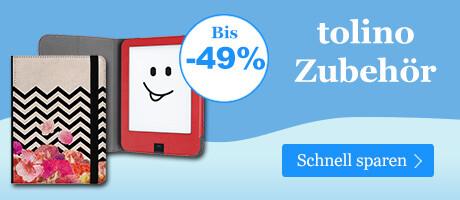 Winter Sale bei ebook.de - Sparen Sie auf tolino Zubehör!