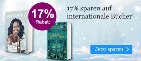 Sparen Sie 17% auf internationale Bücher