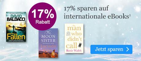 Sparen Sie 17% auf internationale eBooks
