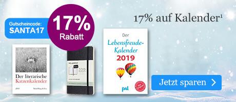 Sparen Sie 17% auf Kalender bei eBook.de