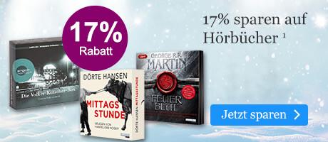 17% sparen auf Hörbuch CDs