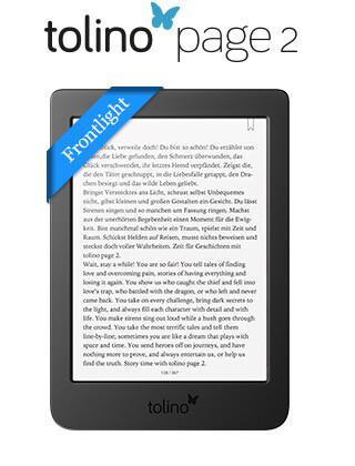 eReader tolino page 2: Großer Lesespaß zum kleinen Preis