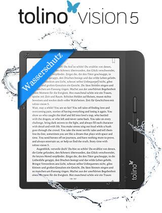 eReader tolino vision 5: Innovative Ideen für höchsten Lesekomfort