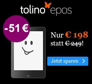 BLACK WEEK Angebot: tolino epos für € 198