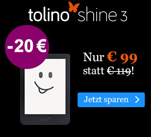BLACK WEEK Angebot: tolino shine 3 für € 99