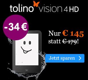 BLACK WEEK Angebot: tolino vision 4 HD für € 145