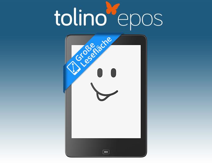 tolino epos - Der eReader, der echte Größe zeigt