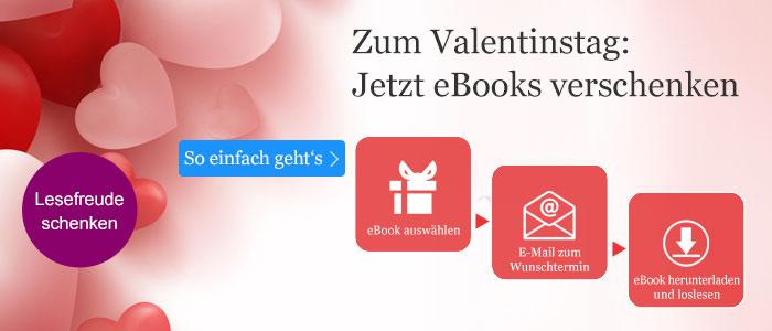 eBooks verschenken zum Valentinstag - so einfach geht's