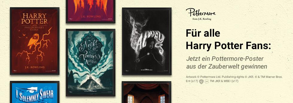 Gewinnen Sie ein tolles Harry Potter-Poster bei eBook.de