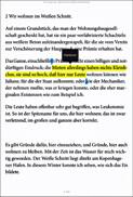 Die eBook.de Lese-App für Android - Leseansicht