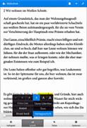 Die eBook.de Lese-App für Android - Schiftänderung