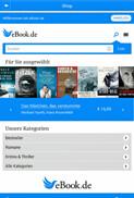 Die eBook.de Lese-App für Android - Shopansicht