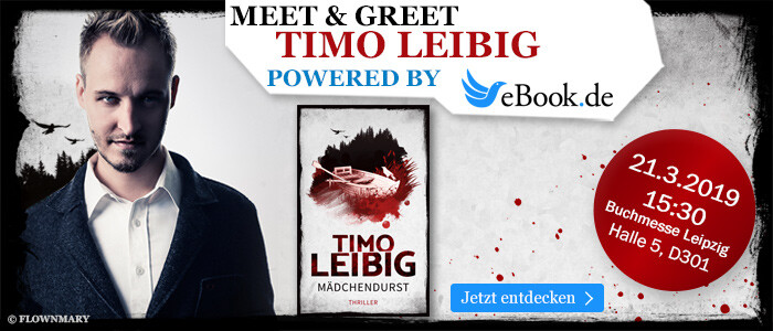 Meet & Greet auf der Leipziger Buchmesse 2019 mit Timo Leibig - powered by eBook.de