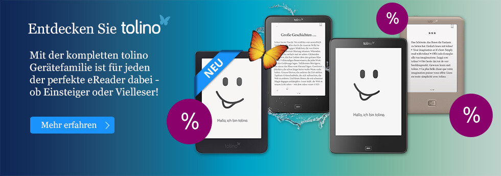 Die tolino eReader zum besten Preis bei eBook.de entdecken