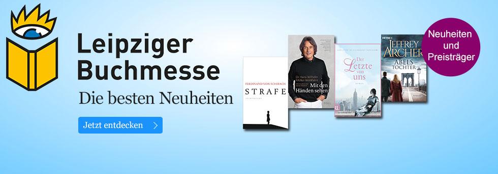 Die Neuheiten zur Leipziger Buchmesse bei eBook.de entdecken