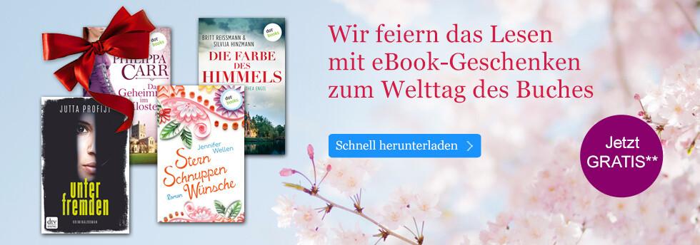 Jetzt Ihre eBook-Geschenke zum Welttag des Buches bei eBook.de herunterladen