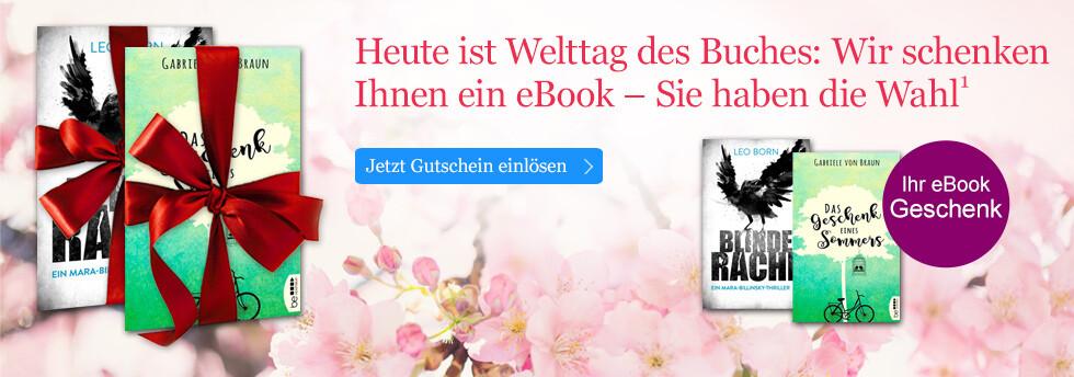 Ihr eBook Geschenk zum Welttag des Buches 2018 bei eBook.de