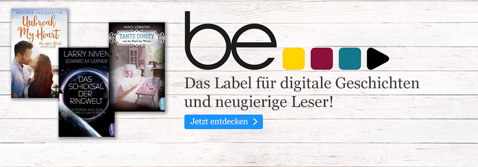 be - das digitale Label: Krimis & Romane bei eBook.de
