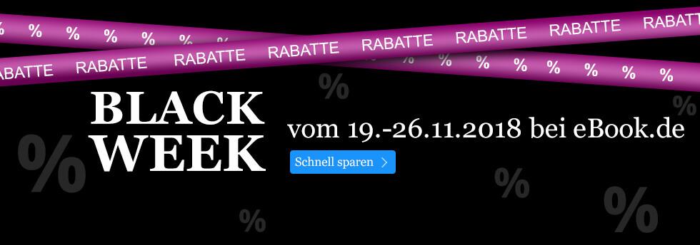 BLACK WEEK bei eBook.de: Tolle Rabatte auf tolino eReader & Zubehör, Hörbücher und internationale Titel