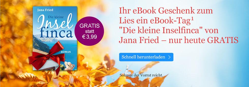 Ihr eBook Geschenk zum Lies ein eBook-Tag: Die kleine Inselfinca von Jana Fried