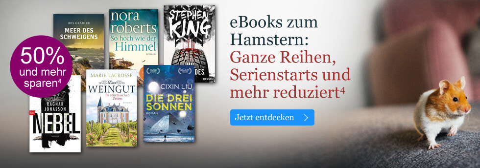 eBooks zum Hamstern: Ganze Reihen, Serienstarts, eBook Pakete und mehr reduziert bei eBook.de