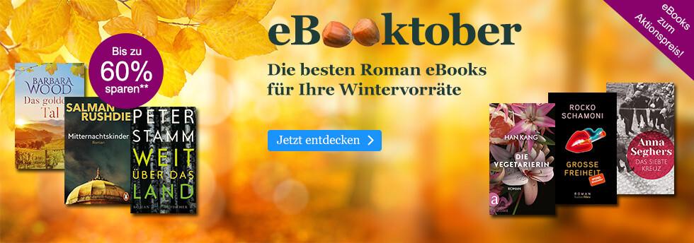 eBooktober bei eBook.de: Roman eBooks für Ihre Wintervorräte
