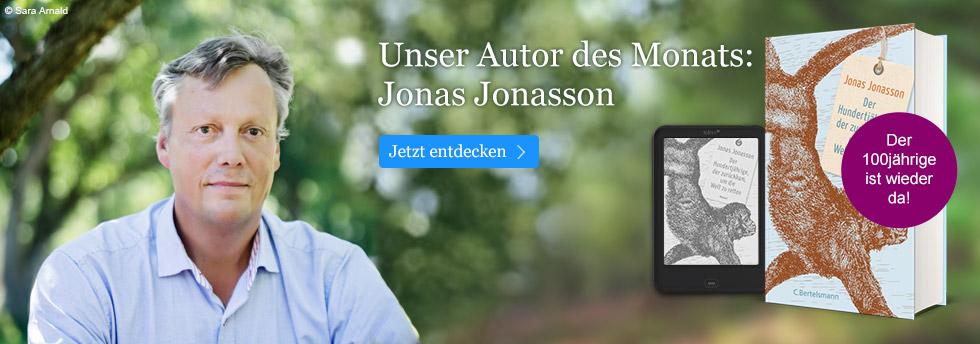 Unser Autor des Monats bei eBook.de: Jonas Jonasson
