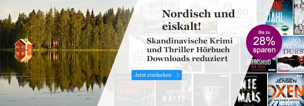 Skandinavische Krimi & Thriller Hörbuch Downloads reduziert