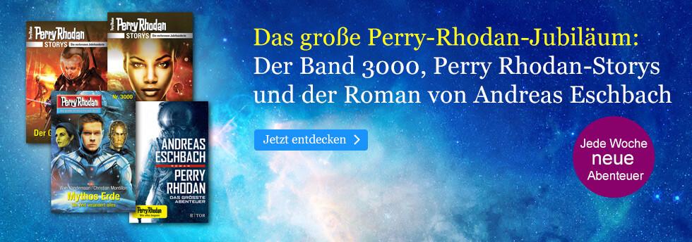 Das große Perry Rhodan-Jubiläum: Der Band 3000, Perry Rhodan-Storys und ein neuer Roman bei eBook.de
