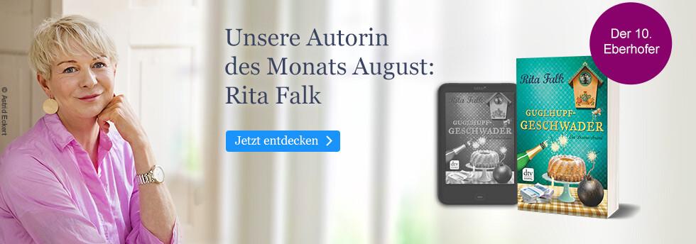 Unsere Autorin des Monats August: Rita Falk