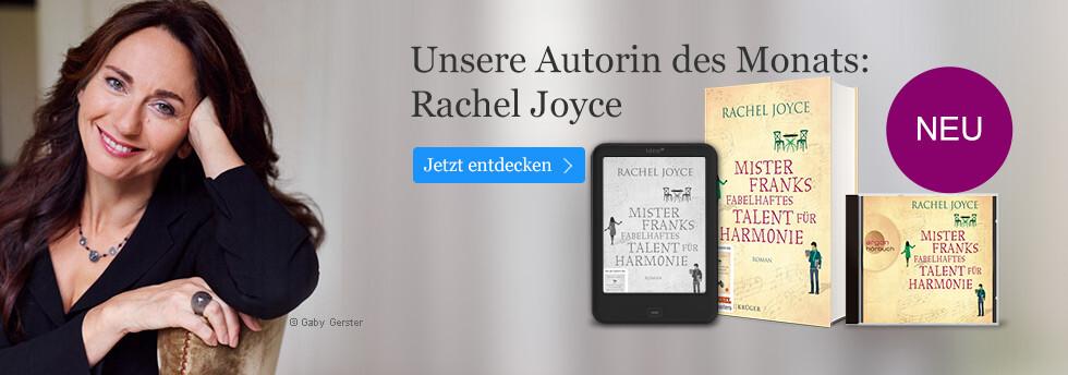 Unser Autorin des Monats: Rachel Joyce