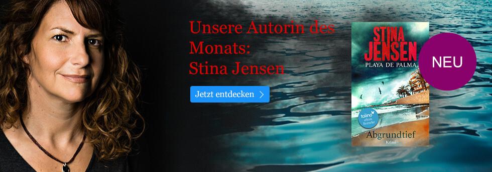Unsere Autorin des Monats bei ebook.de: Stina Jensen
