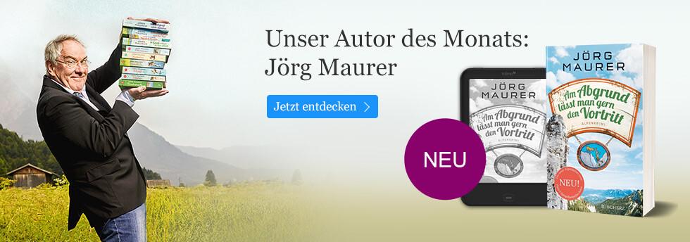 Unser Autor des Monats: Jörg Maurer
