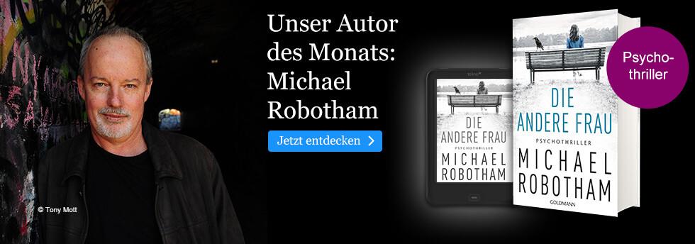 Unser Autor des Monats: Michael Robotham
