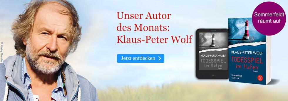 Unser Autor des Monats: Klaus-Peter Wolf