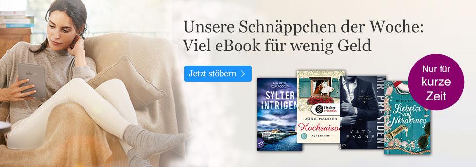 Die Schäppchen der Woche bei eBook.de