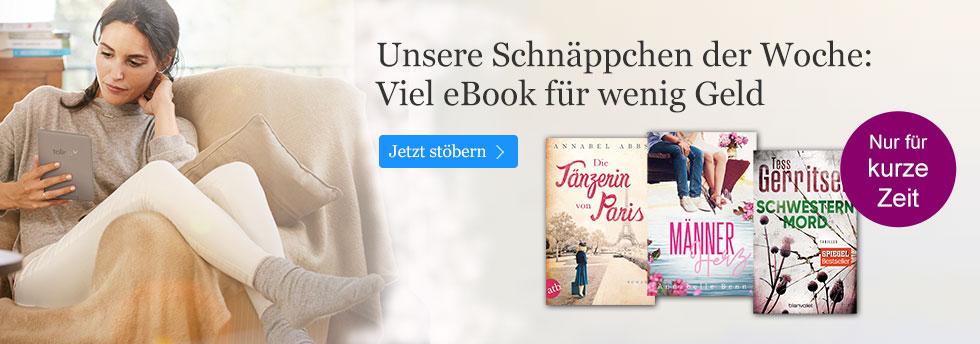 Die Schnäppchen der Woche bei ebook.de