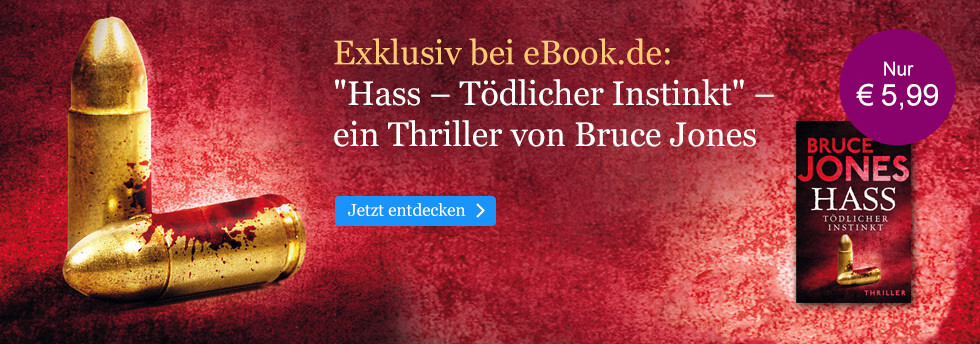 Exklusiv bei eBook.de: Hass von Bruce Jones